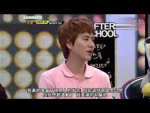 120724 Super Junior 強心臟 吵架事件