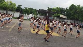 Thi flashmob giải nhất công ty Adora-khối văn phòng