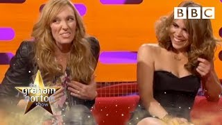 Toni Collette on breast feeding dressed as a man | The Graham Norton Show - BBC