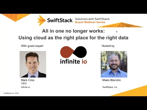Using Cloud as the Right Place for the Right Data