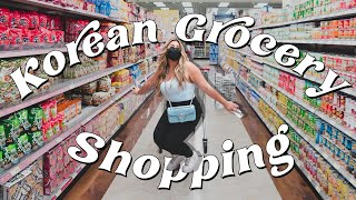 Come Korean Grocery Shopping w/ Me!! *taste test included*