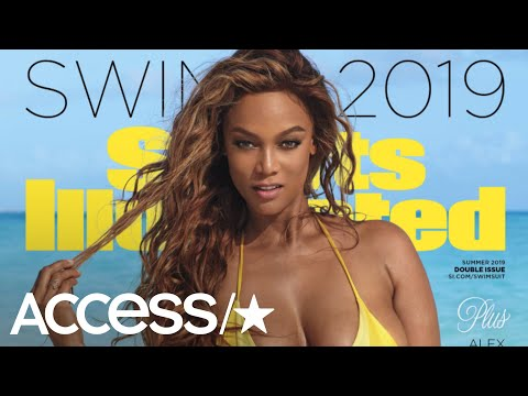Tyra Banks Comes Out Of Model Retirement To Wow On 2019 Sports Illustrated Swimsuit Cover | Access