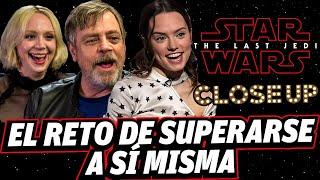 Entrevistas exclusivas LAST JEDI con: Luke Skywalker, Captain Phasma, Rey y director (Close Up)