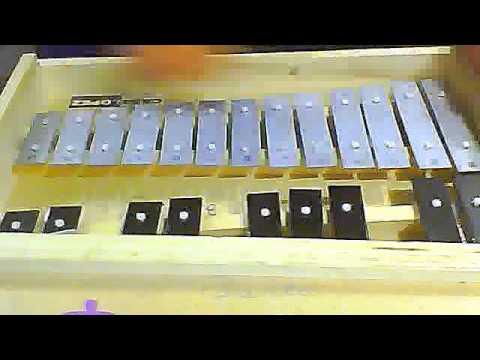 el rin del angelito violeta parra (metalofono)