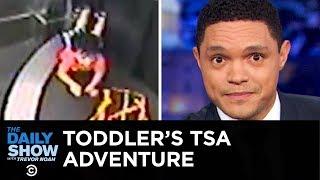 A Toddler Rides an Airport Conveyor Belt & America's Fertility Rate Plummets | The Daily Show