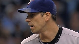 TEX@TB Gm 5: Lee fans 11 to put Rangers in ALCS