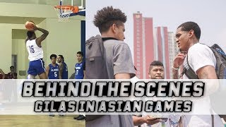 Behind The Scenes: Gilas Pilipinas with Jordan Clarkson | Preparation Against China