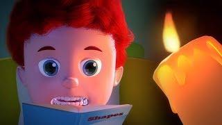 Stories of the Dark | Schoolies Nursery Rhymes | Scary Videos for Kids