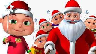 Five Little Babies Christmas Song | Jingle Bells | Nursery Rhymes For Children