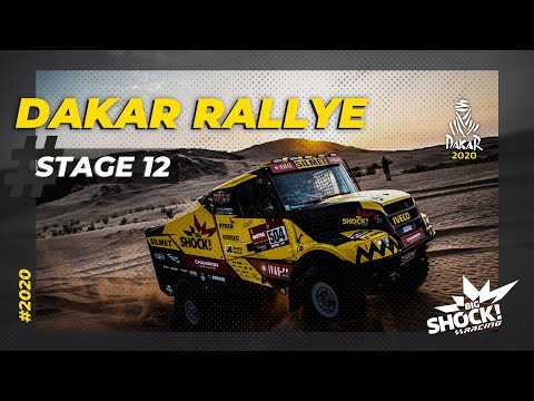 ETAPA 12 - DAKAR 2020 - BIG SHOCK RACING