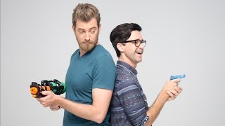 Rhett vs Link: Water Gun Fight
