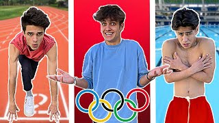 YOUTUBER OLYMPICS!!!! Olympic challenges with my friends!!!