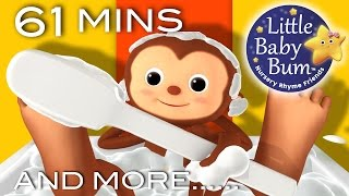 Bath Song   Plus Lots More Nursery Rhymes   61 Minutes Compilation from LittleBabyBum!