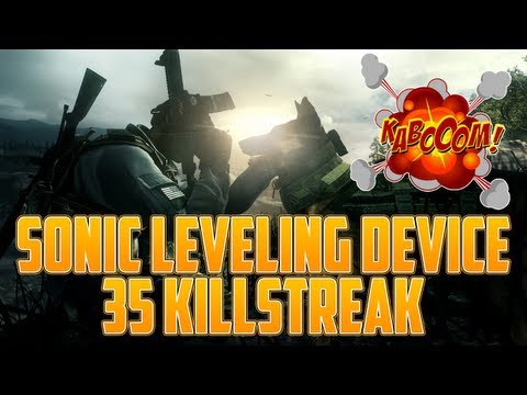"NEW Call Of Duty Ghosts ""Sonic Leveling Device (SLD)"" 35 Gunstreak/Killstreak Info - Smashpipe Games"