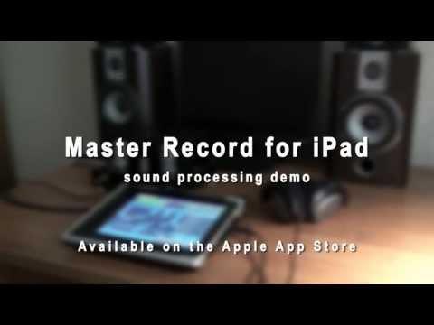 Master Record for iPad (presets demo)