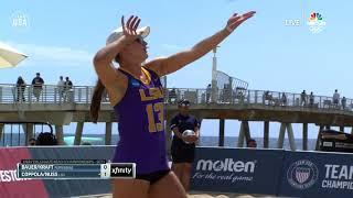 Coppola/Nuss Win Repeat Collegiate Beach Title | Champions Series Presented By Xfinity