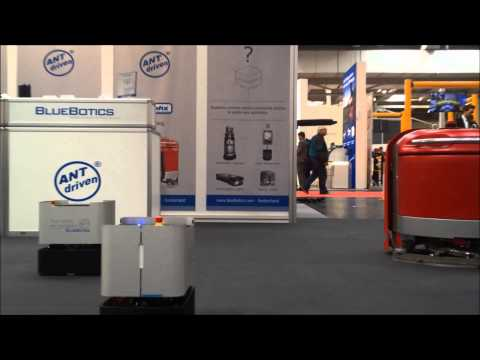 BlueBotics at the Hannover Messe 2015