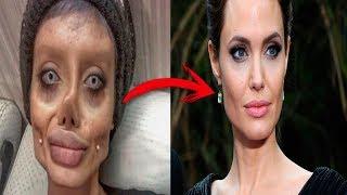 Se hace 50 OPERACIONES para parecerse a Angelina Jolie - Sahar Tabar
