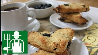 Blueberry Scone | Perfect Light Keto Breakfast