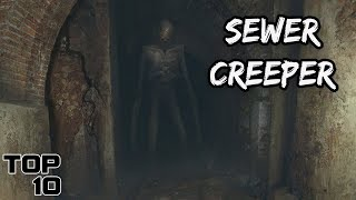 Top 10 Scary Things Found Hiding In Sewers