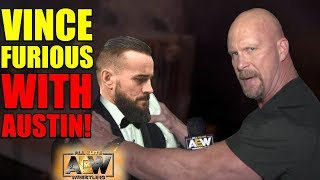 Vince's SHOCKING Backstage Reaction To Stone Cold Steve Austin Joining AEW With CM Punk REVEALED!
