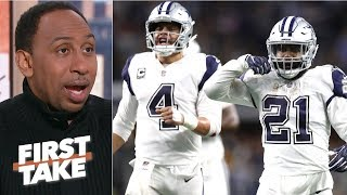 Stephen A. gives Cowboys a 75% chance to upset Rams | First Take