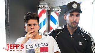 Rudy Mancuso gets Haircut from Worst Reviewed Barber | Jeff's Barbershop