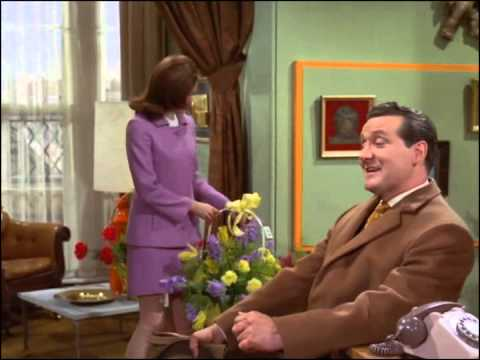 Youtube video - Steed drops by Emma's place to find it filled with flowers, he pretends to not know it's her birthday and then produces tickets to Paris