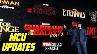 MCU Phase 4 Movie Updates