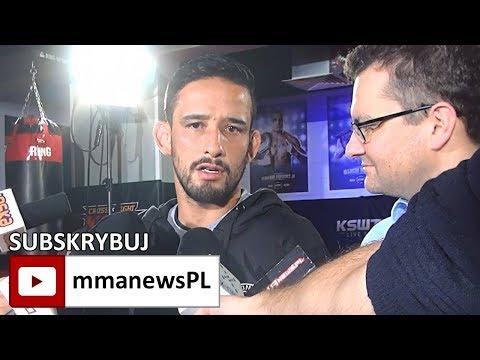 KSW 41: Kleber Koike ostrzega Kornika przed trudnym rewanżem