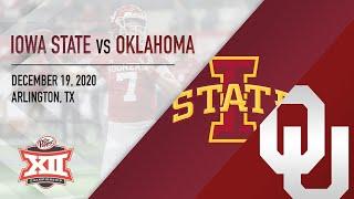 OU Highlights vs Iowa State (Big 12 Championship)