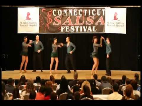 "Salsa Fever On2's ""Plan B"" pro team at 2012 CT Salsa Fest"