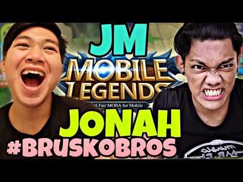 JM VS JONAH MOBILE LEGENDS BRUSKOBROS 2018