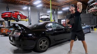 Taking Delivery of my Toyota Supra!