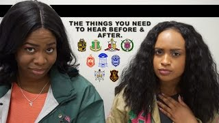 So You Want To Be Greek? (NPHC)   The Things You Need To Hear BEFORE and AFTER Joining   Shea Miller
