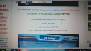 How to add biss key in super max sm 2560 Videos - MP3HAYNHAT COM