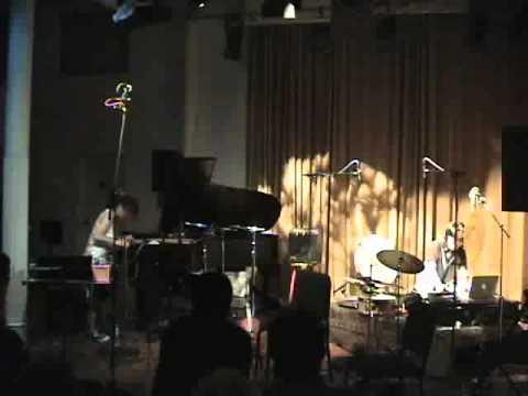 experimental music based on my compositions. Shoko Nagai( piano/ compositions) Satoshi Takeishi (percussions/ electronics)