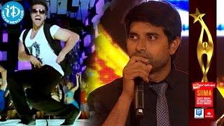 Best Dance Choreographer Johnny | Laila O Laila | Nayak @ SIIMA 2014