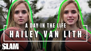 Hailey Van Lith is SHUTTING DOWN HATERS  😈 | SLAM Day in the Life