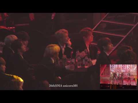 seoul music awards 2017 BTS reaction to GOT7