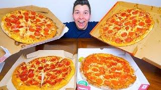 Pizza Hut vs. Domino's vs. Papa John's vs. Little Caesars • PIZZA TASTE TEST