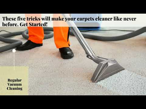 Ideas for your Carpet Cleaning