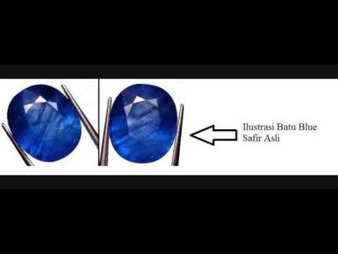 Cara Membedakan Batu Blue Safir Asli dan Palsu