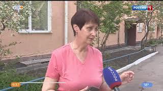 В посёлке Козицком разваливается дом