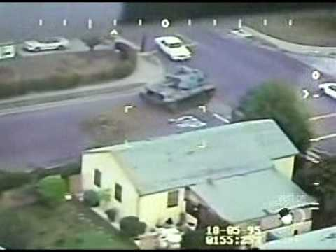 Military Vet Steals Tank - Goes on Rampage