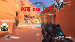 OverWatch Day in the Life of a Dad:Warp103 Lets play Overwatch : Die another Day ep 6: Try harder