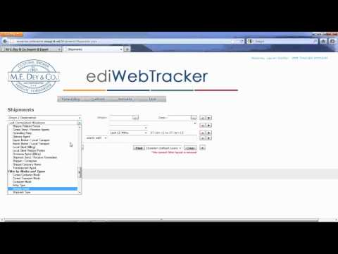 M E  Dey WebTracker