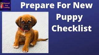 A NEW PUPPY - Pt 1 - THE BIG REVEAL - How to prepare, what to buy, what to do!