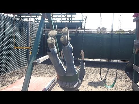 Backflip off of Playground Swing (YT3D:Enable=True)
