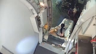 Emergency Landing Airbus A320! Escape slide deployment